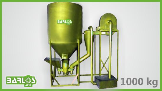 Смеситель кормов 1000 кг/ч